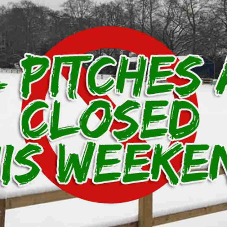ALL PITCHES ARE CLOSED!