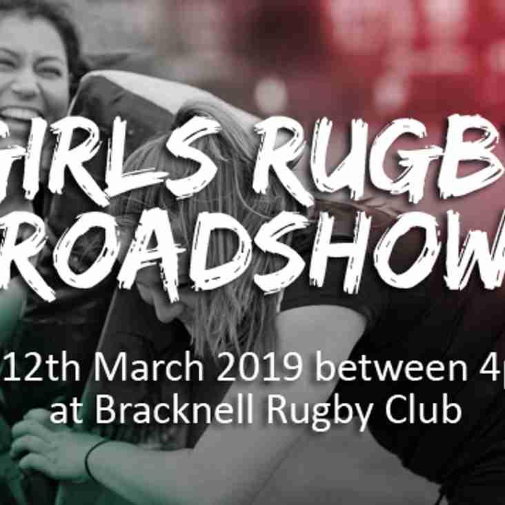 BRACKNELL GIRLS RUGBY ROADSHOW