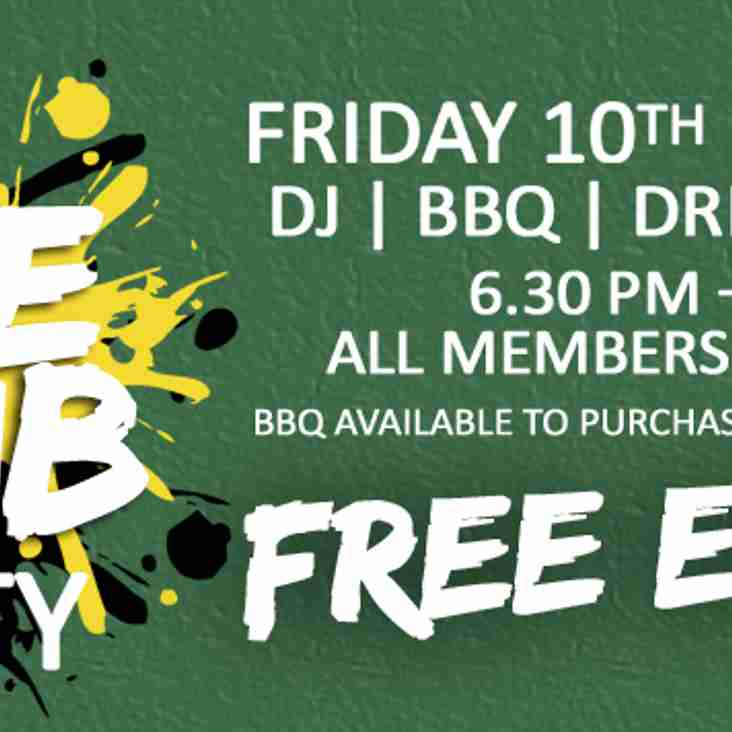 ONE CLUB Party - 10th MAY 2019