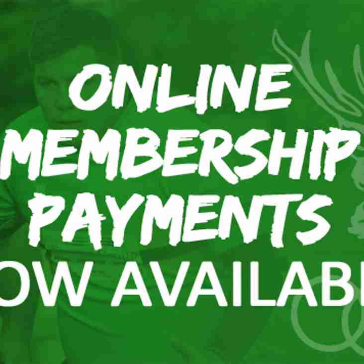 Online Membership Payments