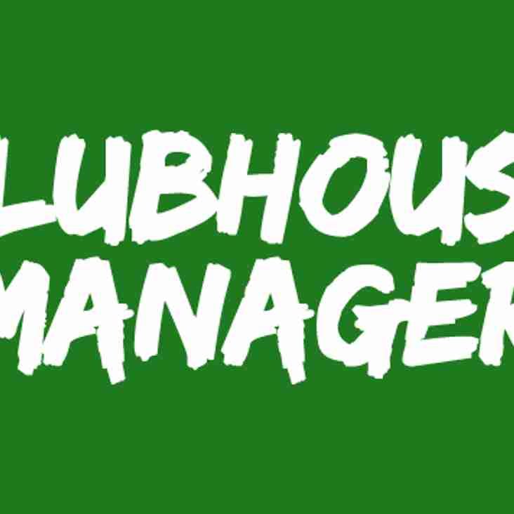 New Clubhouse Manager