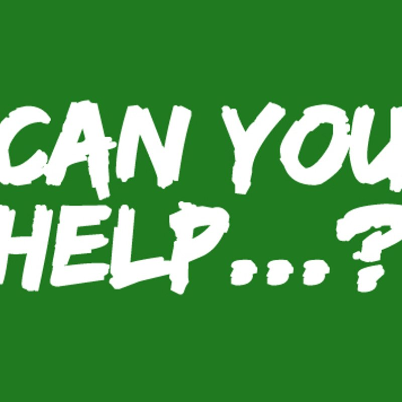 Can You Help...?