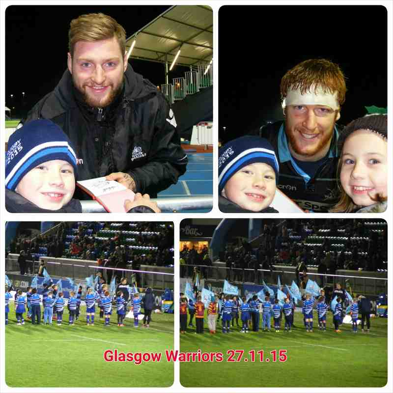 Whitecraigs at Glasgow Warriors