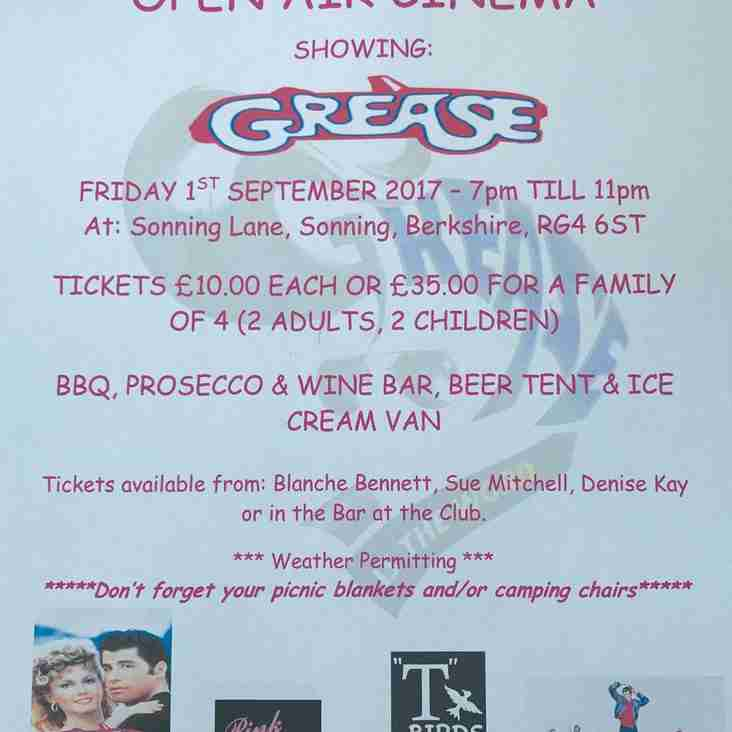 Open Cinema showing Grease