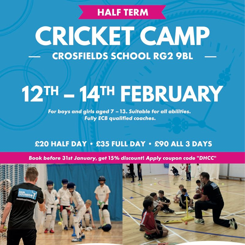February Half Term Cricket Camp