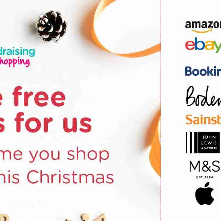 DON'T FORGET EASYFUNDRAISING THIS CHRISTMAS