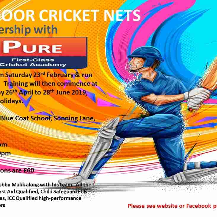 COLTS INDOOR CRICKET NETS