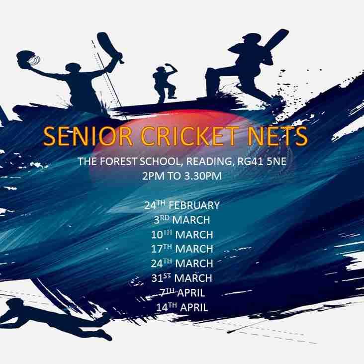 Senior Winter Indoor Nets - Starting Soon!