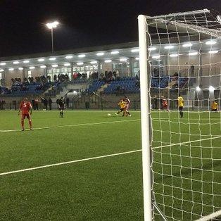 Walton & Hersham away match report