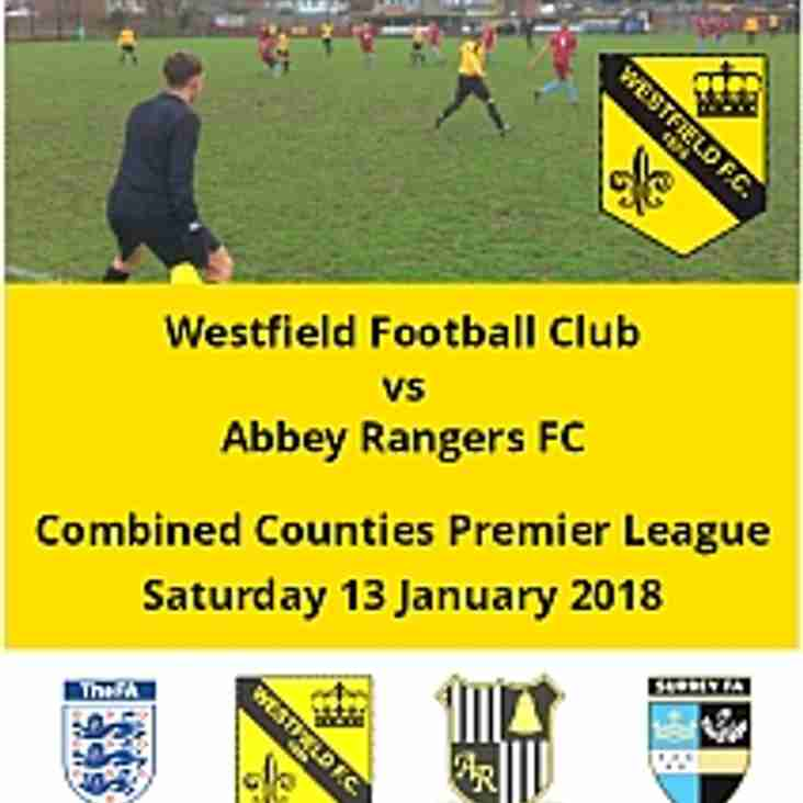 Home to Abbey Rangers today