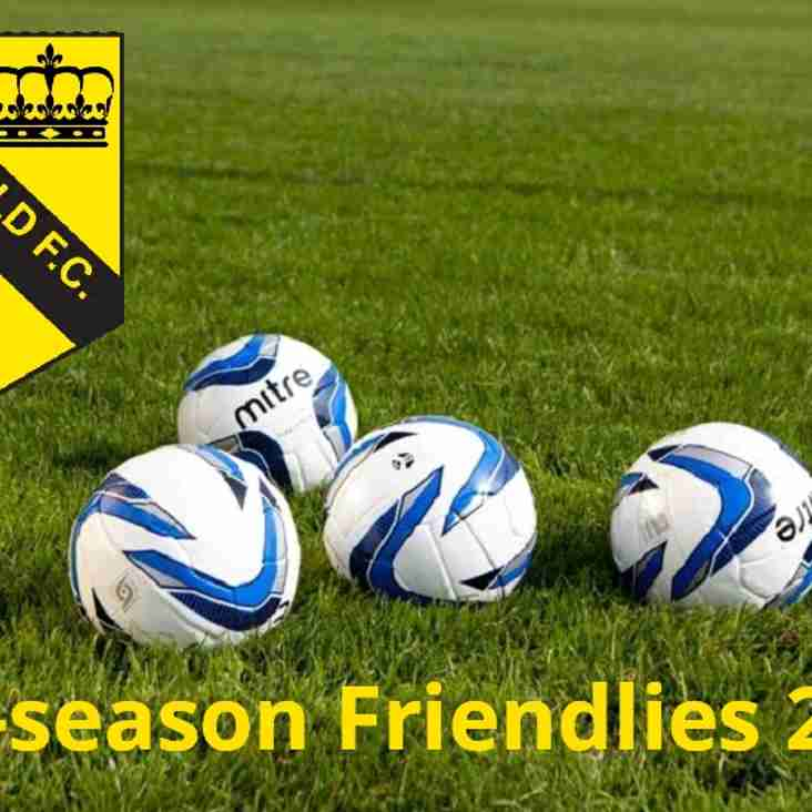 Pre-season Friendlies 2018