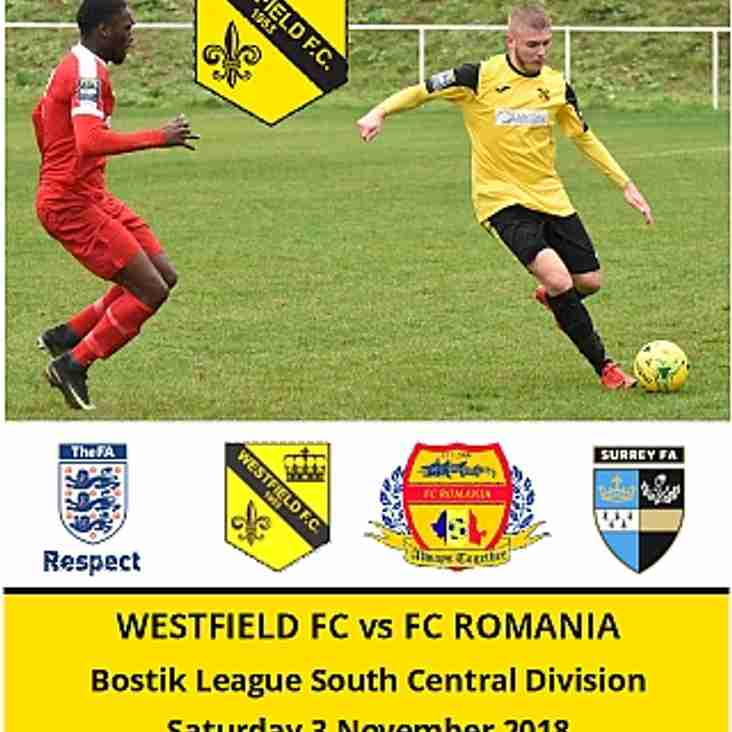 Home to FC Romania today