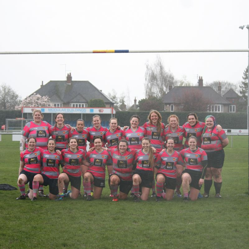 Ladies lose to Peterborough Ladies 12 - 19