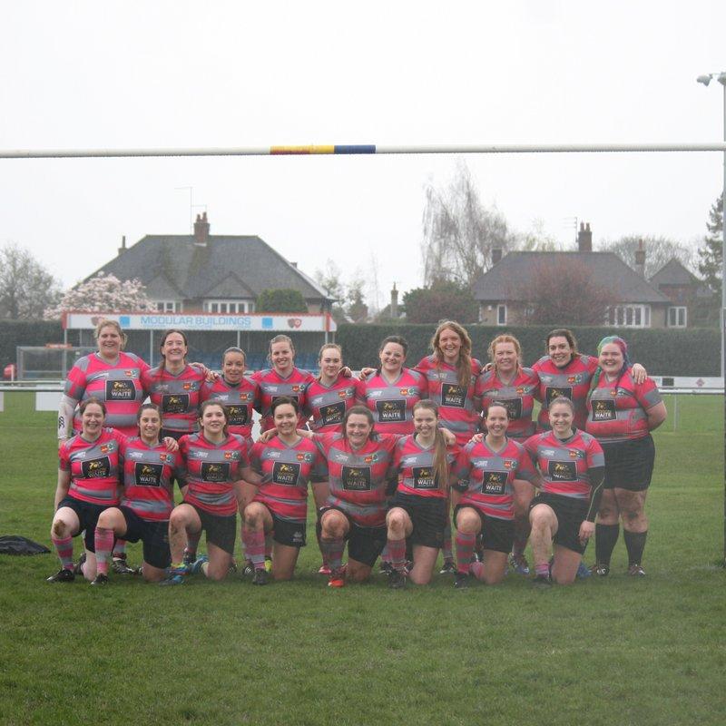 Ladies beat Shelford Ladies 15 - 31