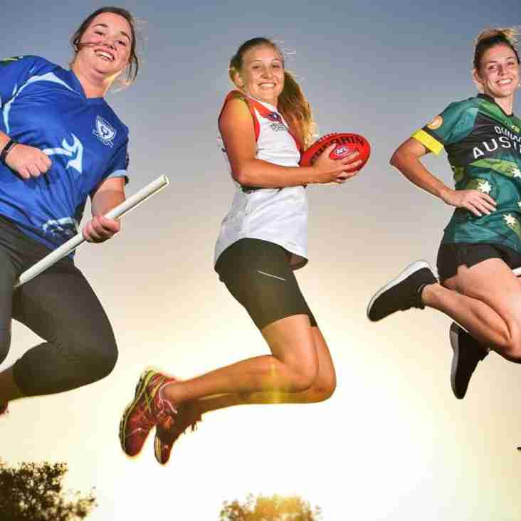 Women's football recruiters raid Quidditch leagues in search of top talent