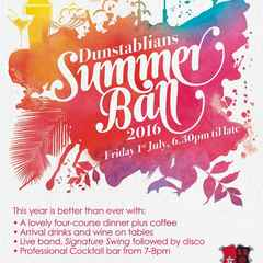 "DRUFC Summer Ball ""Early Bird"" tickets now available"