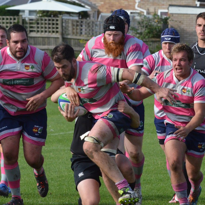 Olney beaten by Market Harborough in first home league game of season