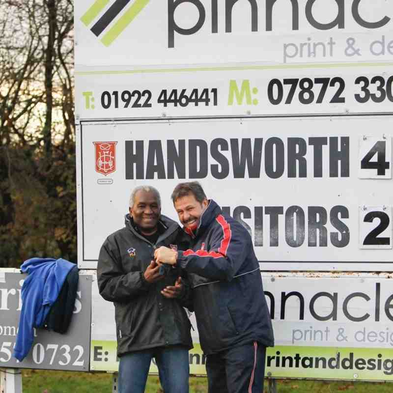Handsworth 1st v Willenhall