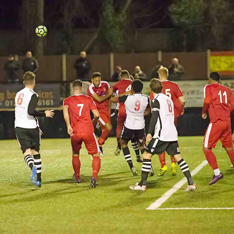Mike v Coleshill Town-Cup Match