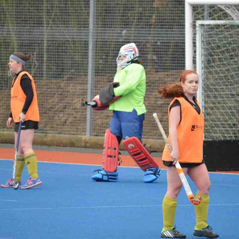 20160206 Hockey Ladies II vs Abingdon II