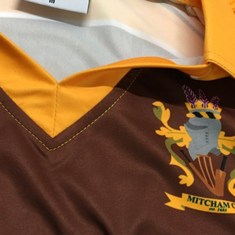 First of the new coloured shirts for 2018's T20 and Colts teams have arrived