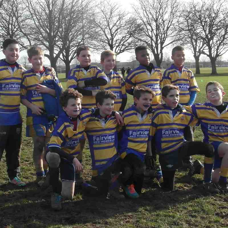 U12s v Chingford & Datchworth - Feb 2015