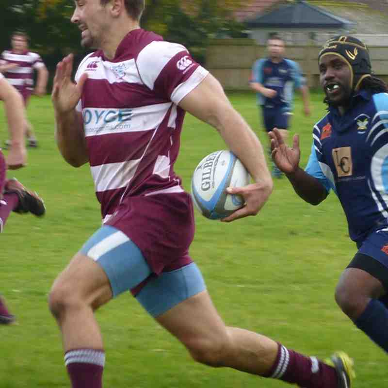 Swans 1st XV v Supermarine 18th Oct 2014