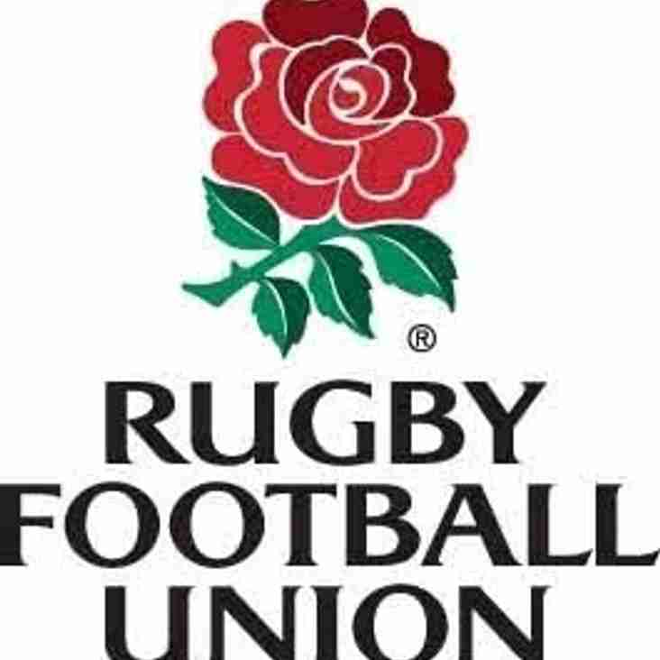 RFU Communication - Six law amendments