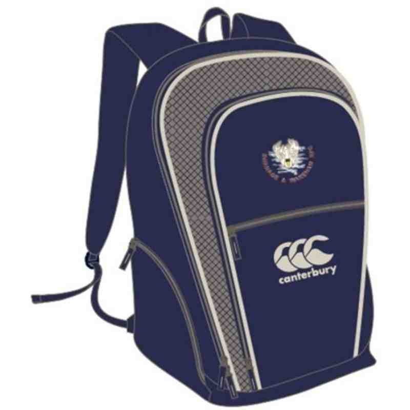 CANTERBURY SWANAGE & WAREHAM RFC CLUB II BACKPACK