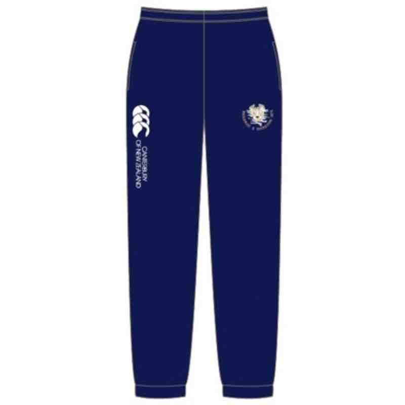 CANTERBURY KIDS SWANAGE & WAREHAM RFC LINED CUFFED STADIUM PANT