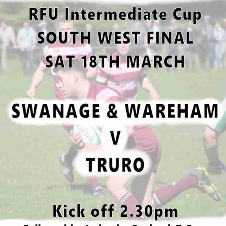 SWANS v TRURO - 18th March - Poster