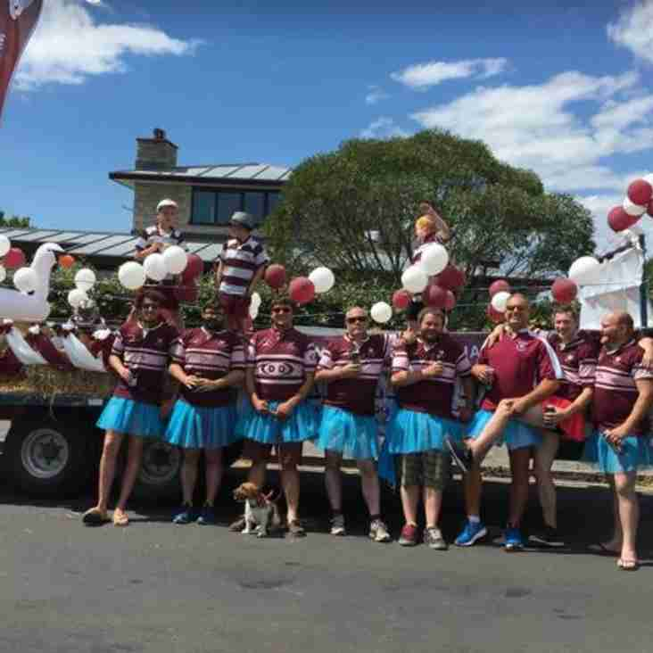 SWANS RFC @ SWANAGE CARNIVAL - 30th July 2017