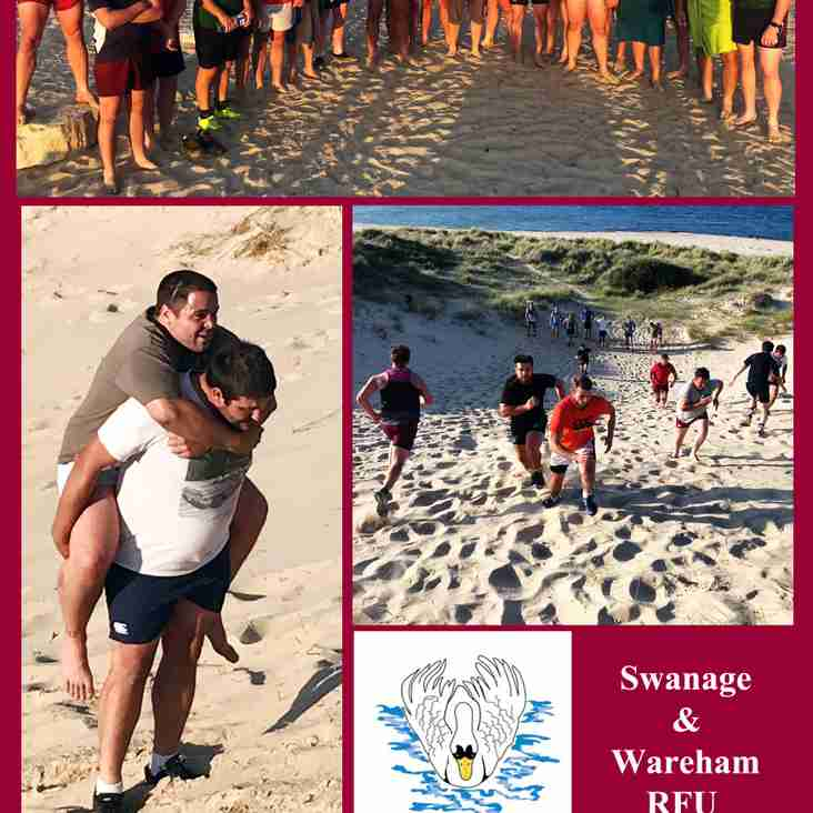 Beach Training Tuesday 9th July
