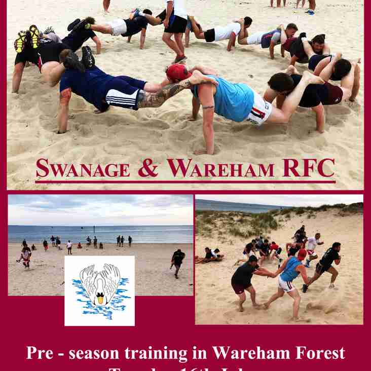 Pre-Season Training Wareham Forest