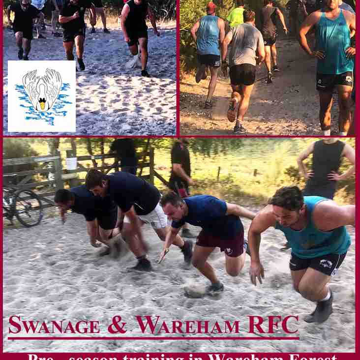 Pre Season Training Wareham Forest