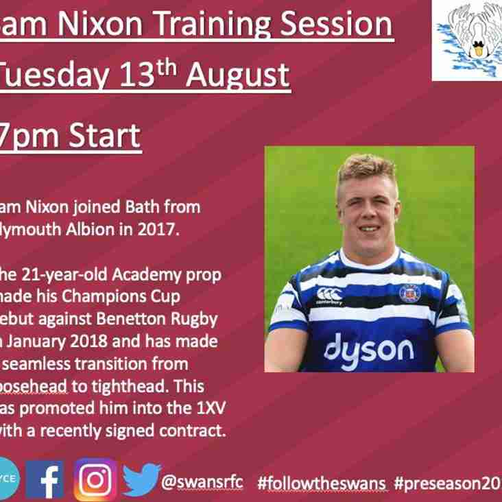 Special Guest Training Session With Sam Nixon