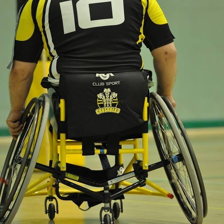 Wheelchair Premier League reaction<
