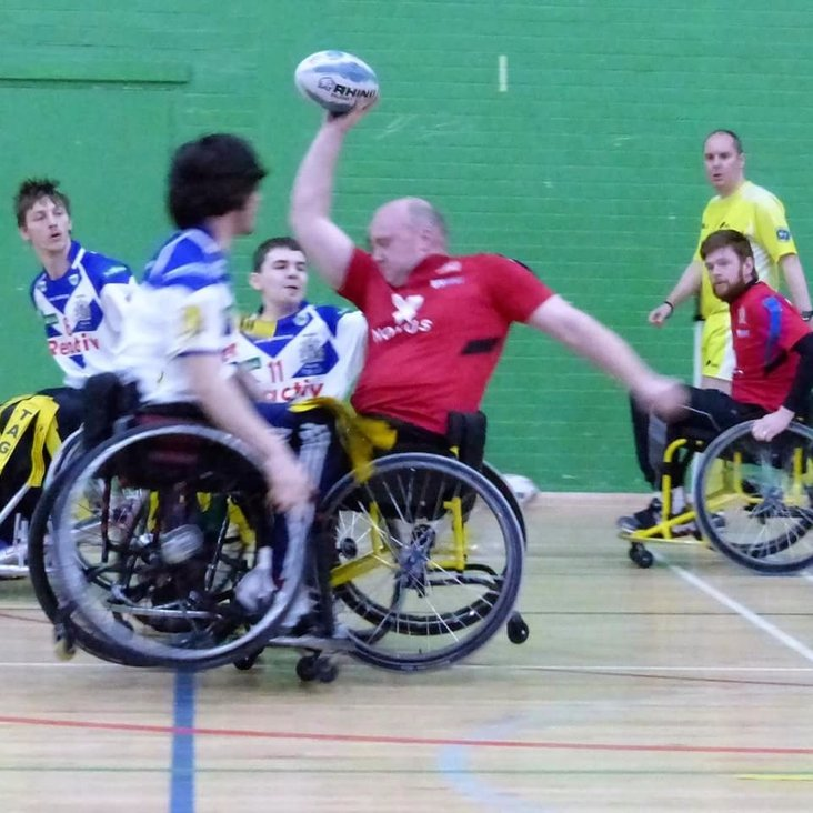 Wheelchair Rugby League Round Up<