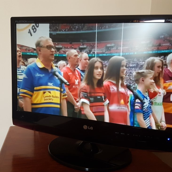 Mark&#039;s on the TV<