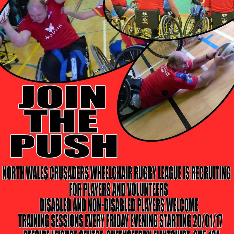 Wheelchair Rugby League weekly