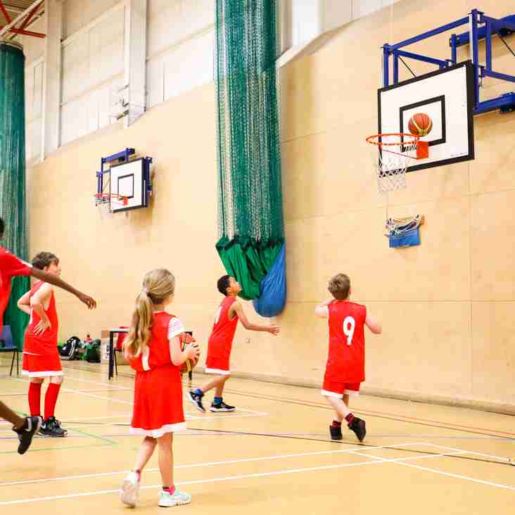 Monday Night: Youth Basketball,  6pm - 7pm Under 11s Skills Camp