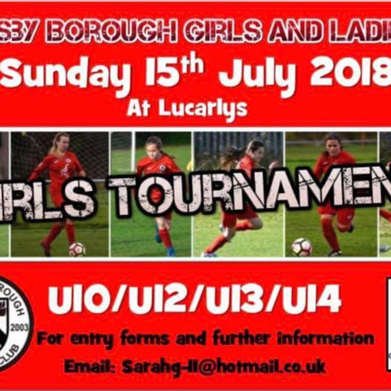 Girls and Ladies announce TOURNAMENT date
