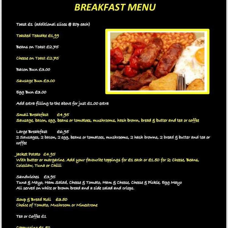 BREAKFAST AT LUCARLYS THIS SUNDAY