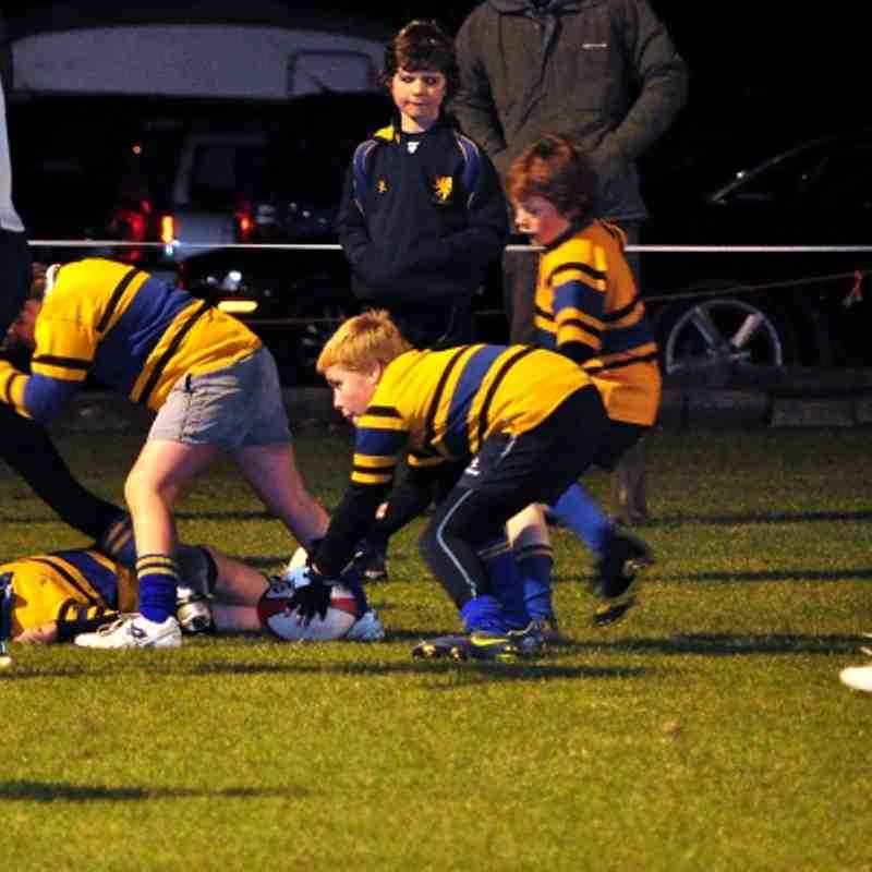 10/11/12 Floodlit Mini Rugby Festival