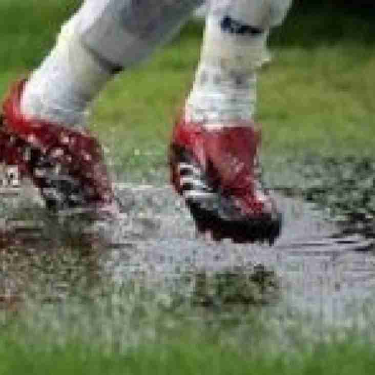 Saturday 29th January - MATCHES POSTPONED