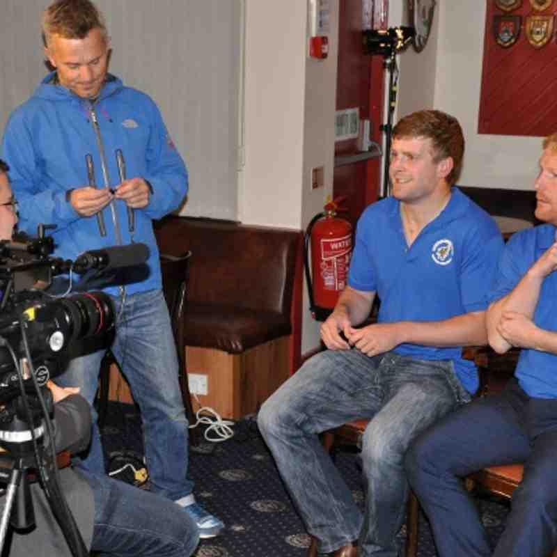 17/9/13 Sky Sports visit
