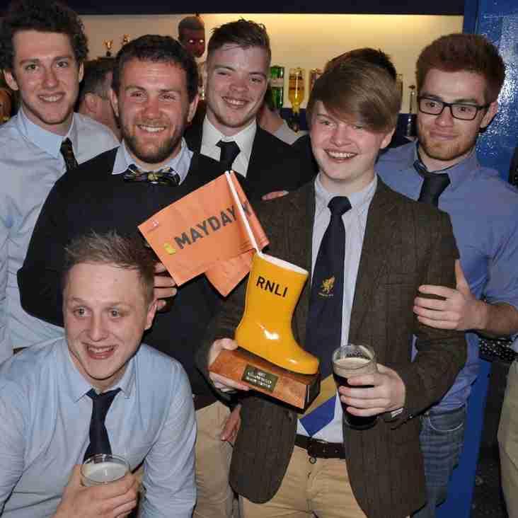 RNLI Yellow Welly winners!