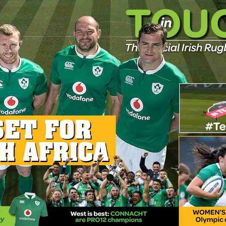 IRFU In Touch magazine - June 2016