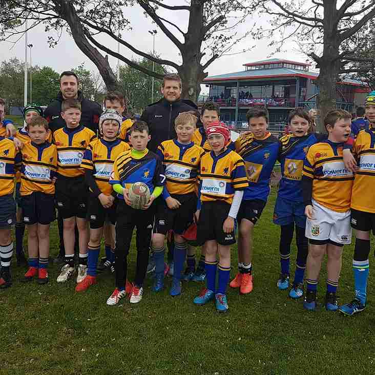 Under 12's reunite for Malone Tournament