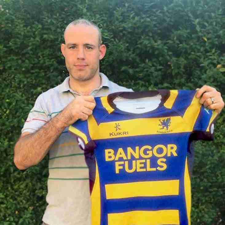 Lewis Stevenson signs for Bangor!